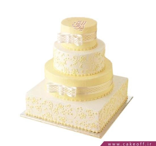 کیک عقد و عروسی - کیک عقد در کنار هم بودن | کیک آف