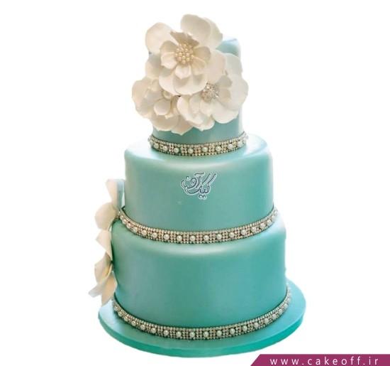 کیک عقد - کیک عروسی فیروزه باران | کیک آف