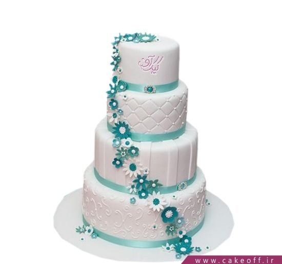 مدل کیک عروسی - کیک عروسی تا ابد وفادار | کیک آف