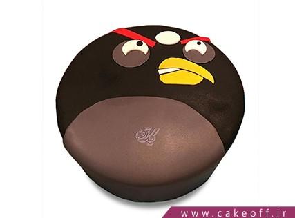 کیک تولد بچه گانه - کیک انگری بردز 13 | کیک آف