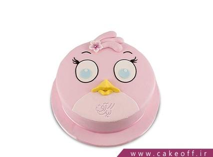 کیک تولد بچه گانه - کیک تولد انگری بردز 8 | کیک آف