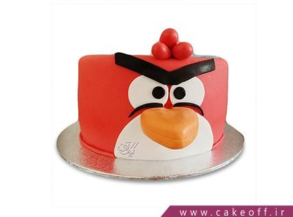 کیک بچه گانه - کیک تولد انگری بردز 27 | کیک آف