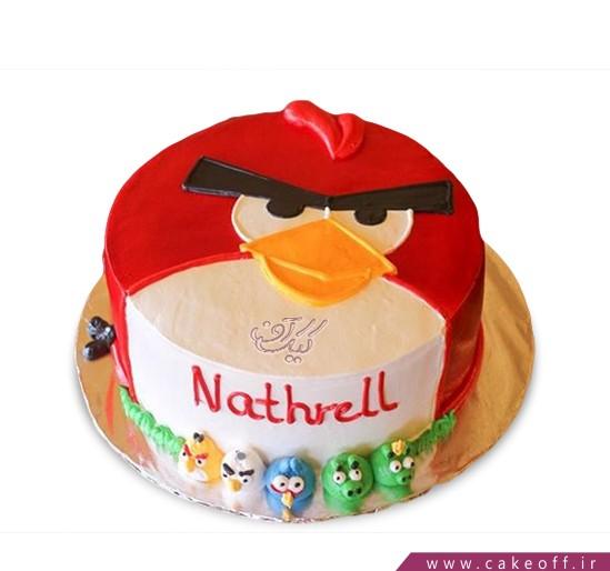 کیک تولد انگری بردز 9