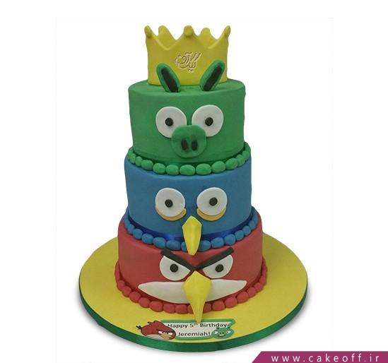 کیک تولد انگری بردز 7