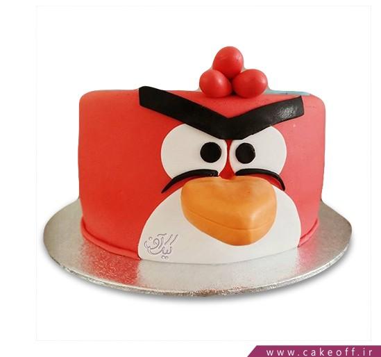 کیک تولد انگری بردز 27