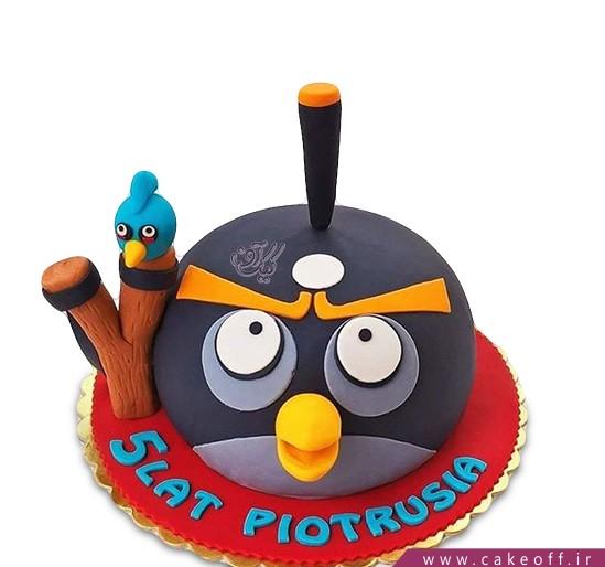 کیک بچگانه - کیک تولد انگری بردز 10 | کیک آف