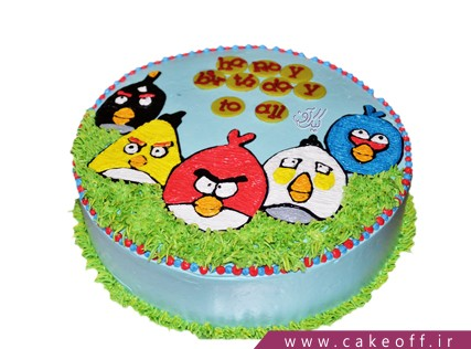 کیک انگری بردز های خشمگین | کیک آف