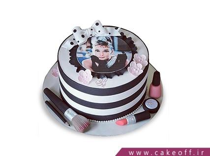 کیک دخترانه - کیک لوازم آرایش 24 | کیک آف