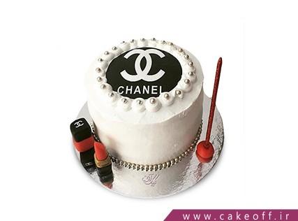 کیک دخترانه - کیک لوازم آرایش 25 | کیک آف
