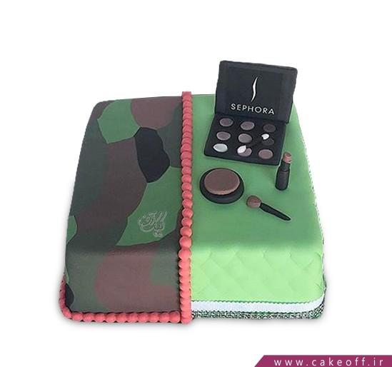کیک لوازم آرایش 4