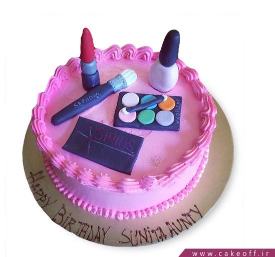 کیک زنانه لوازم آرایش 7
