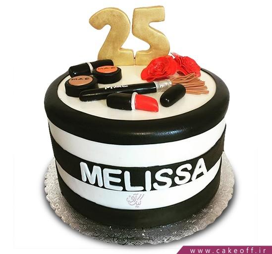 کیک لوازم آرایش 14