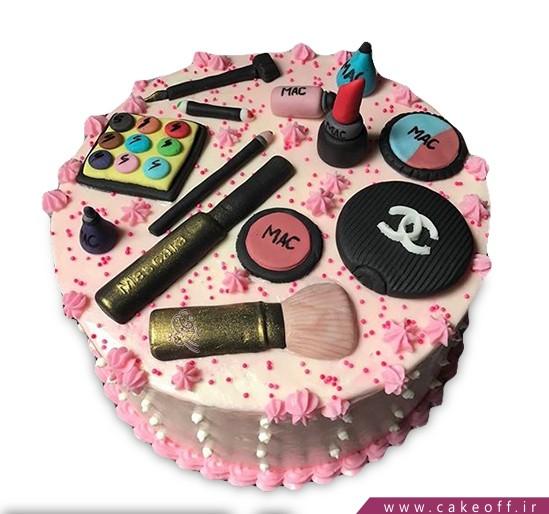 کیک لوازم آرایش 15