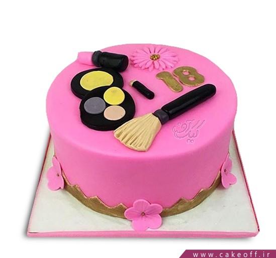 کیک لوازم آرایش 16