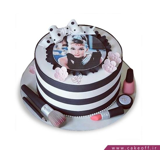 کیک لوازم آرایش 24