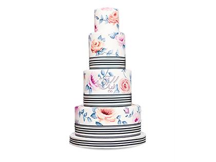 کیک عروسی آذرنوش | کیک آف
