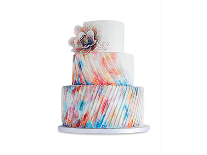 کیک عروسی آناهیتا | کیک آف