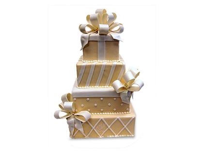 سفارش کیک عقد و عروسی - کیک عروسی هدیه | کیک آف