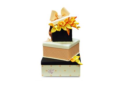سفارش کیک عقد و عروسی - کیک عروسی آذر | کیک آف