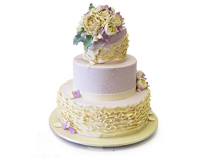 کیک عقد و عروسی - کیک آلاگل | کیک آف