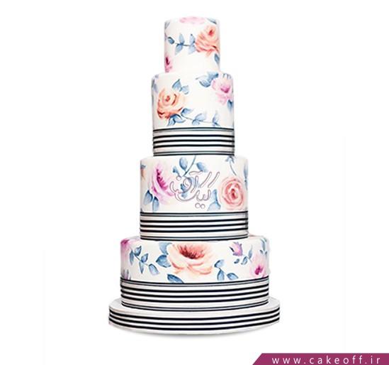 کیک عروسی آذرنوش   کیک آف