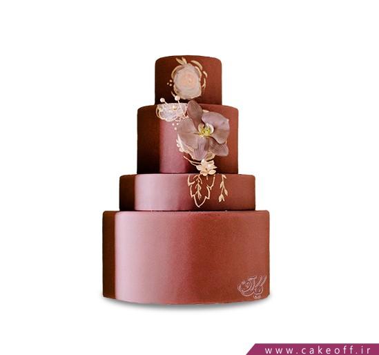 سفارش کیک عقد و عروسی - کیک ارغوان | کیک آف