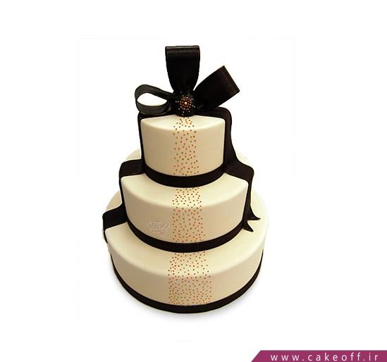کیک عروسی شایسته | کیک آف