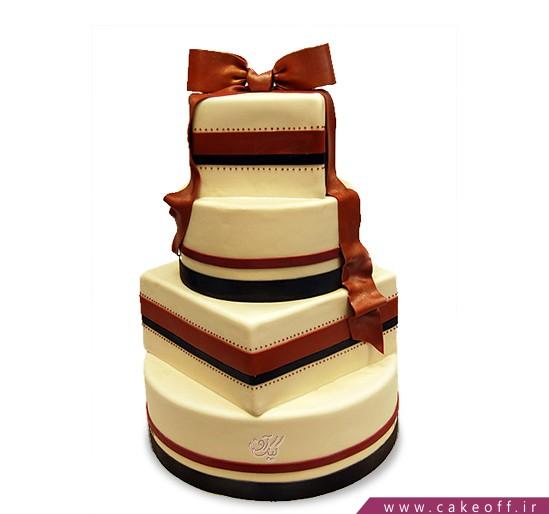 سفارش کیک عقد و عروسی - کیک عروسی شمیلا | کیک آف