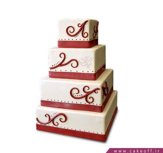 سفارش کیک عقد و عروسی - کیک آرا | کیک آف