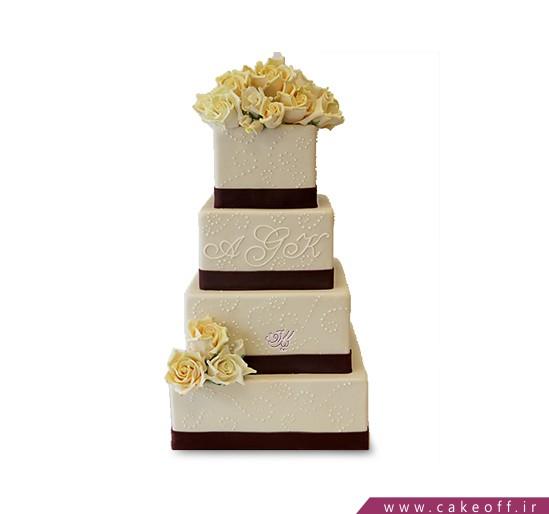 کیک عروسی آذر بو | کیک آف
