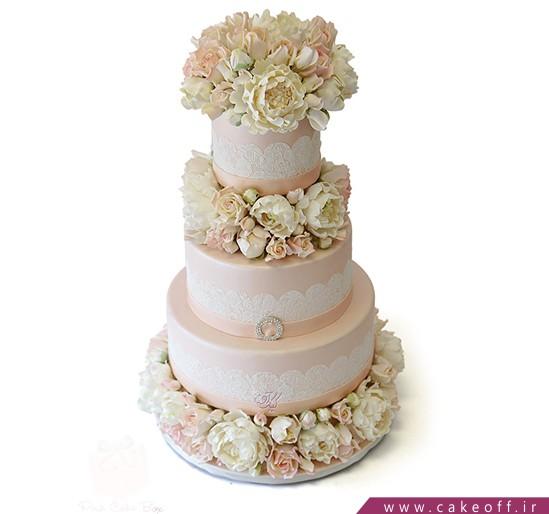 کیک عقد و عروسی - کیک گلدیس | کیک آف