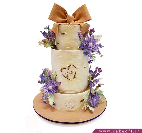 کیک عقد و عروسی گلبانو | کیک آف