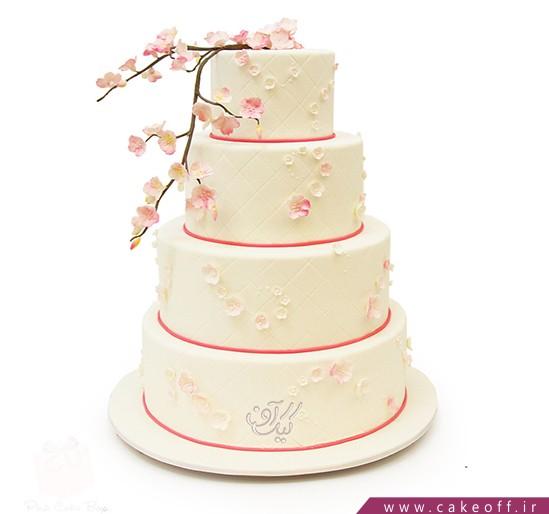 کیک عقد و عروسی شکوفه | کیک آف