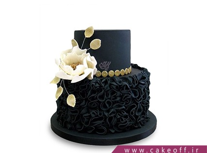 کیک عقد و عروسی - کیک طبقاتی شور وصال | کیک آف
