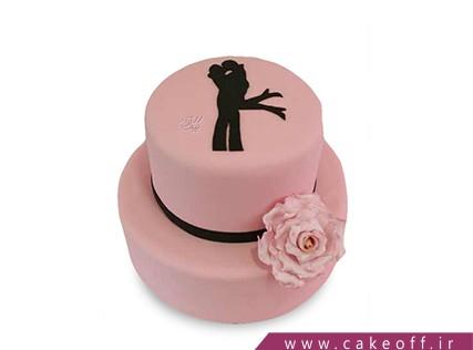 کیک عاشقانه - کیک آژاکسیو | کیک آف