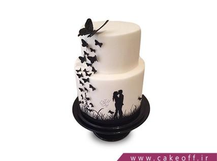 کیک سالگرد ازدواج - کیک مارسی | کیک آف