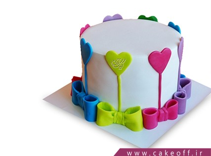 کیک مخصوص ولنتاین - کیک عاشقانه نانسی | کیک آف