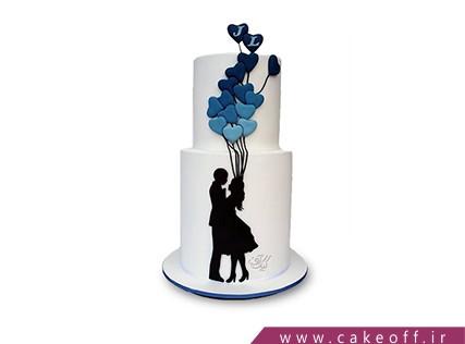 کیک برای ولنتاین - کیک آلساندریا | کیک آف