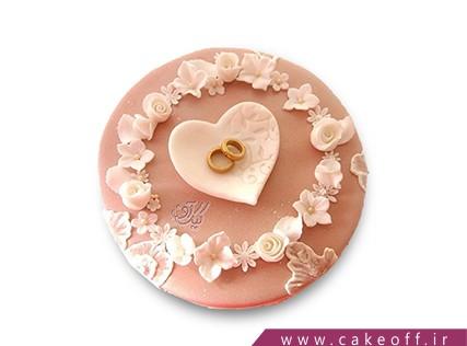 کیک نامزدی - کیک حلقه ها | کیک آف