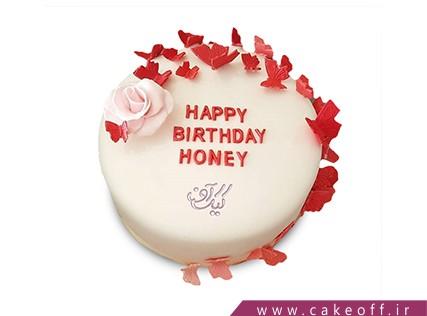 کیک ویژه ولنتاین - کیک میلان | کیک آف