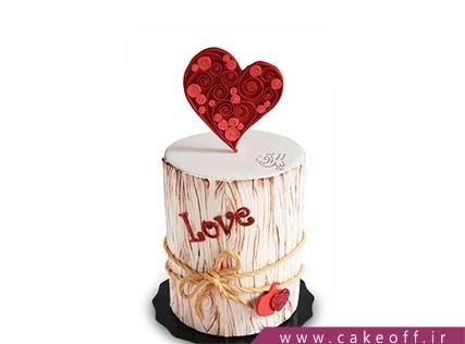 کیک تولد عاشقانه مرسالا | کیک آف