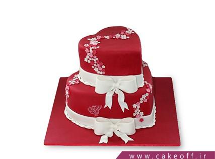 سفارش کیک عاشقانه - کیک ورسیلیا | کیک آف
