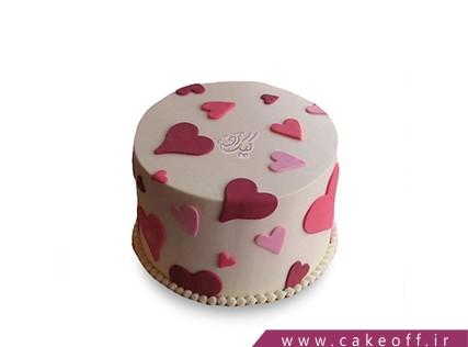 کیک قلب - کیک ویونا | کیک آف