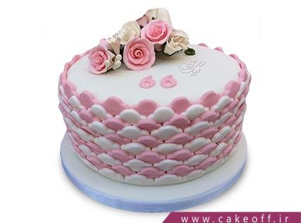 سفارش کیک بصورت آنلاین - کیک همیشه بهار | کیک آف