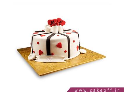 سفارش کیک سالگرد ازدواج - کیک هدیه ی زندگی ام | کیک آف