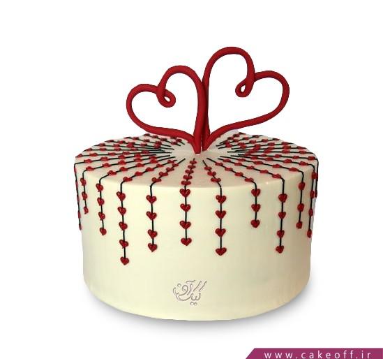 کیک عاشقانه دیدی به هم رسیدیم؟