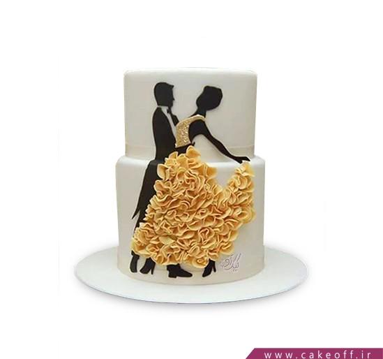 کیک عاشقانه - کیک شب عشق | کیک آف