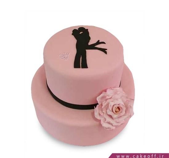 کیک عاشقانه آژاکسیو