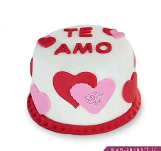 کیک عاشقانه ونیز