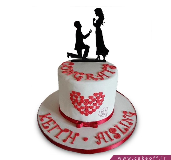 کیک عاشقانه فلورنس